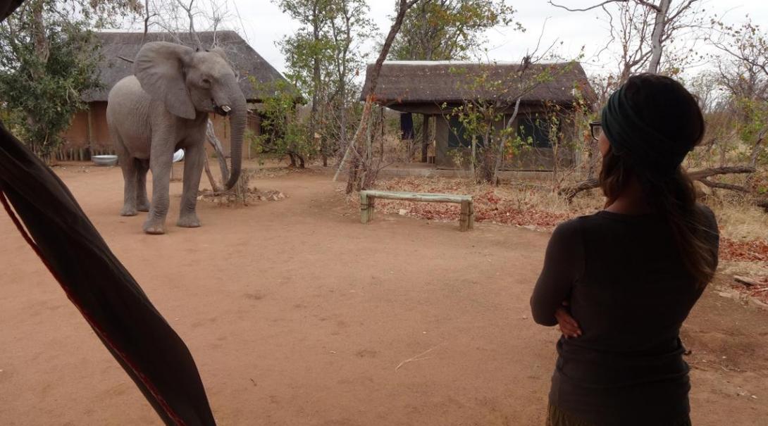 Caitlin S in Botswana